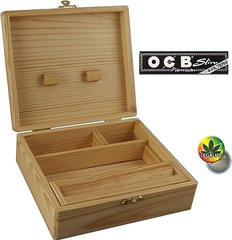 Compra WOODEN BOX RS - Caja de Madera (170 x 59 x 150 cm, 4 ...