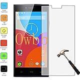 Owbb Protection écran en Verre Trempé pour THL T6C Smartphone Films de protection Transparents