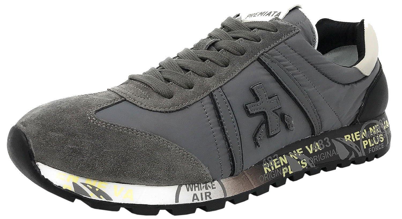 Acquista PREMIATA Lucy 2456 Sneaker Uomo Nylon E CAMOSCIO Grigio miglior prezzo offerta