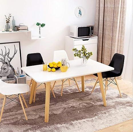 Tavolo da Pranzo Stile Nordico Moderno Salotto Minimalista ...