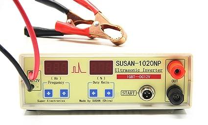 amazon com hanchen susan 1020np ultrasonic inverter electro fisher rh amazon com Backpack Electrofishing Fish Shocker