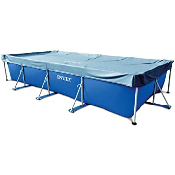 Lona para piscina Rectangular Intex 4, 50 m x 2, 20 m x 84 cm: Amazon.es: Jardín