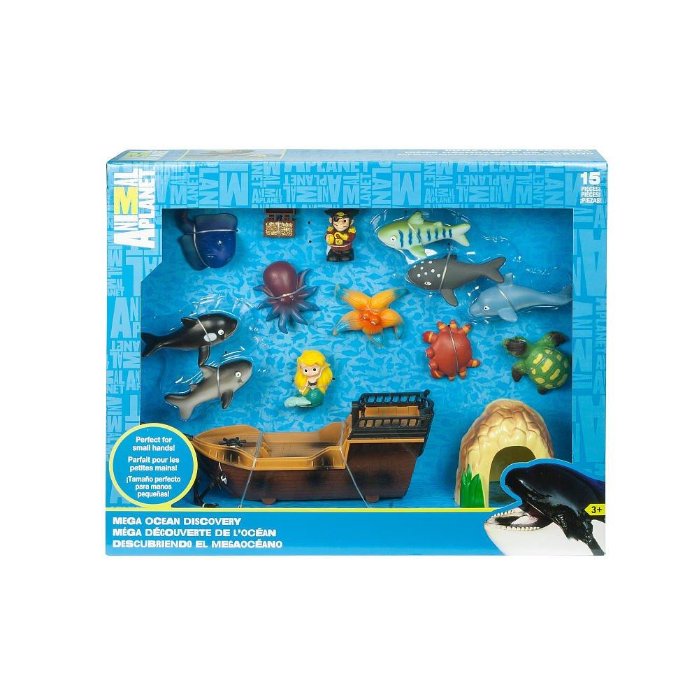 amazon com animal planet ocean mega set toys u0026 games