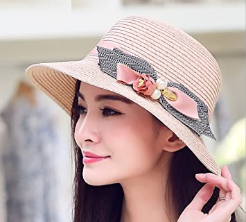 e5b0108c FANGSHAI Sunshade Hat Female Tide Summer Outdoor Folding Sun Protection Sun  Hat UV Beach Hat ZXCV