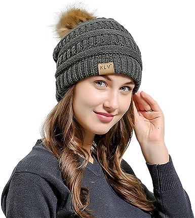 Mens Women Baggy Warm Crochet Winter Wool Knit Ski Beanie Skull Slouchy Caps Hat