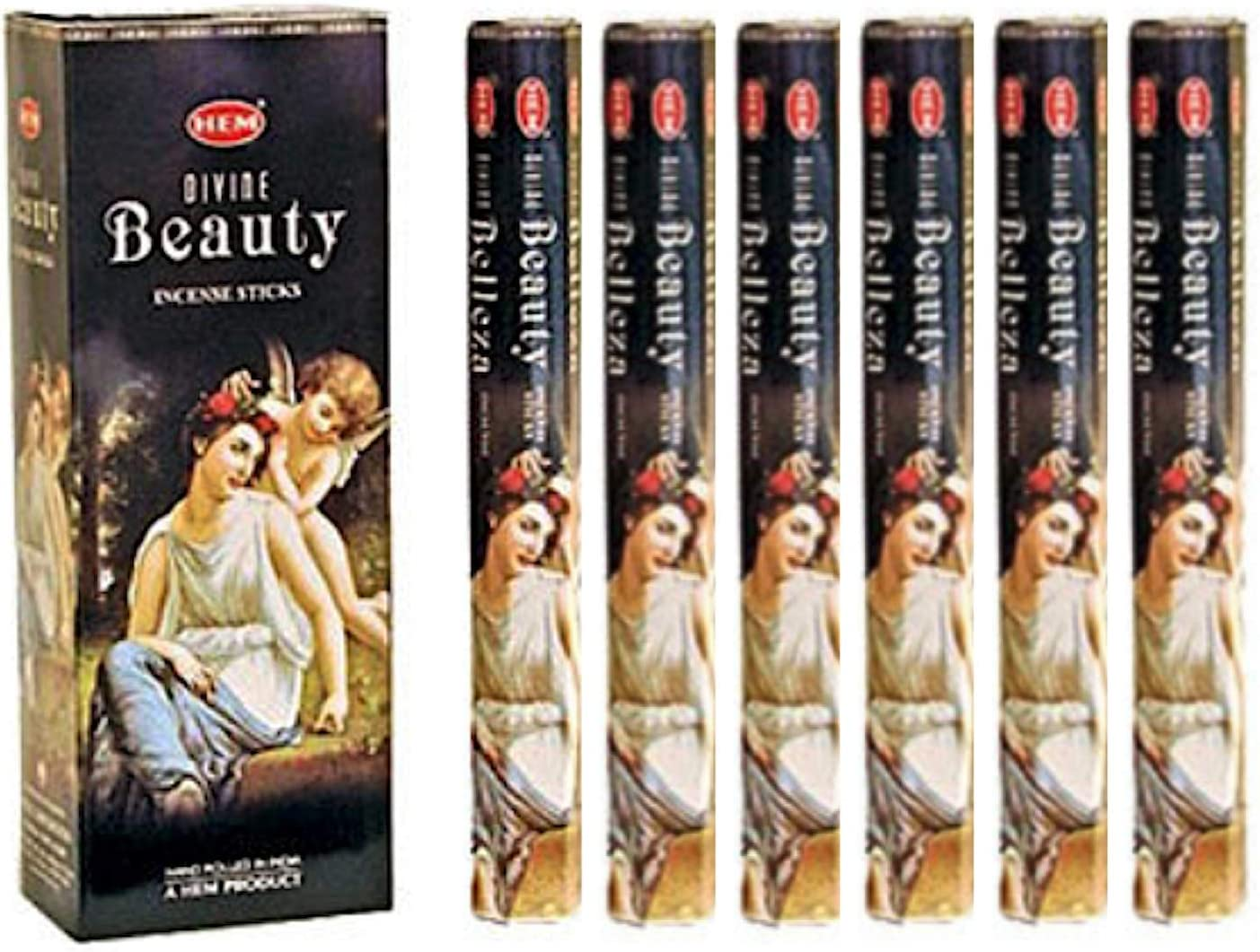 Divine Beauty - Box of Six 20 Gram Tubes - HEM Incense