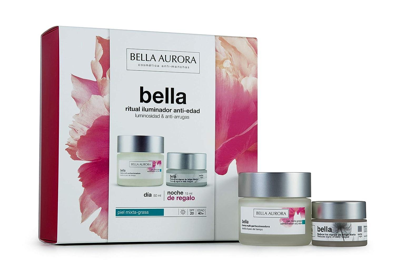 Bella Aurora 4093872 - Pack Bellapiel Mixta 50ml + Bella Noche 15ml, Rosa: Amazon.es