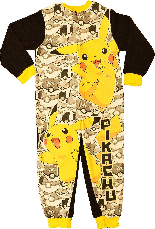 Pokemon Pikachu One Piece Sleepsuit 3-4 años: Amazon.es: Ropa ...