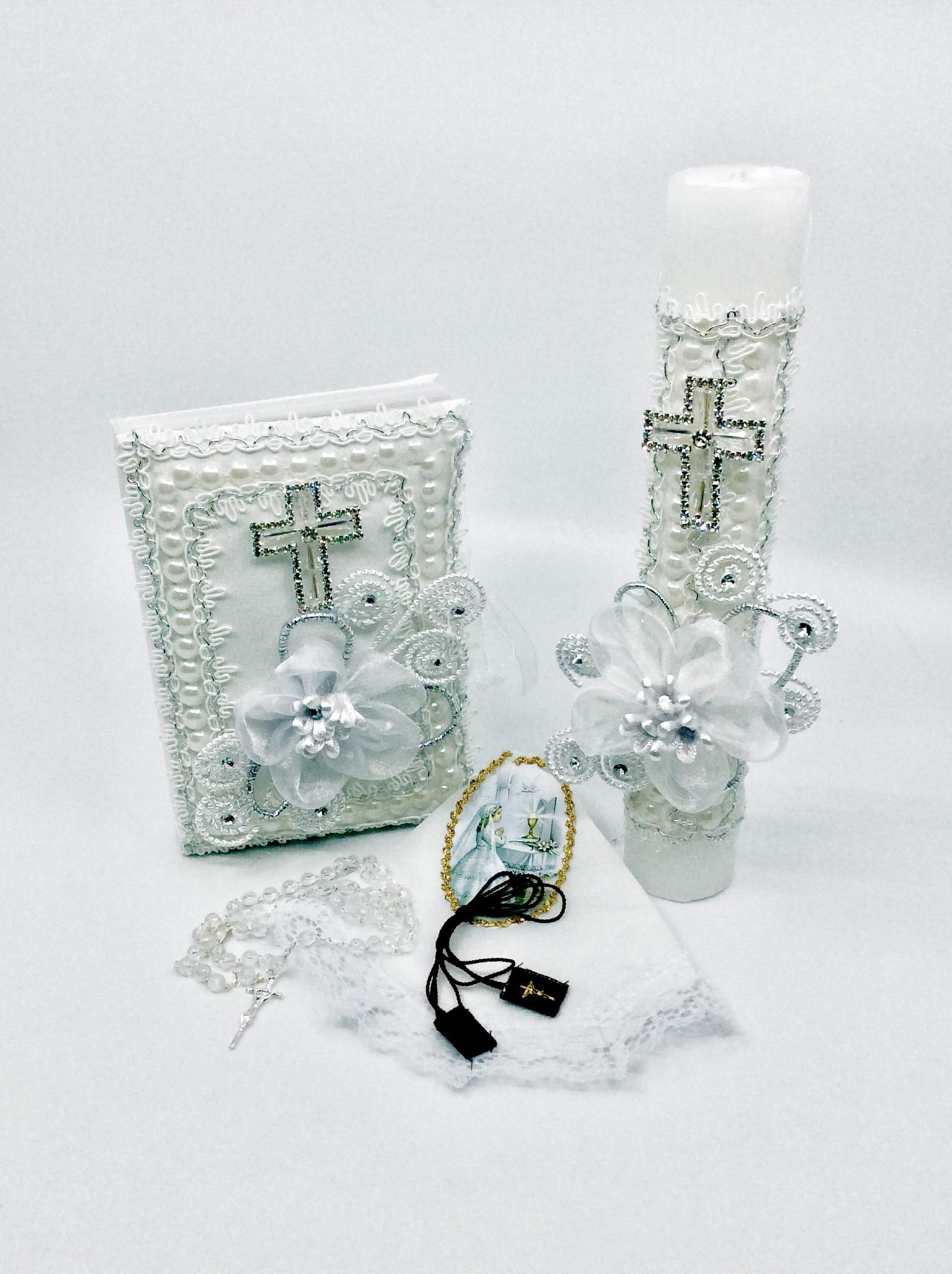 First Communion Candle Set by Casa Ixta