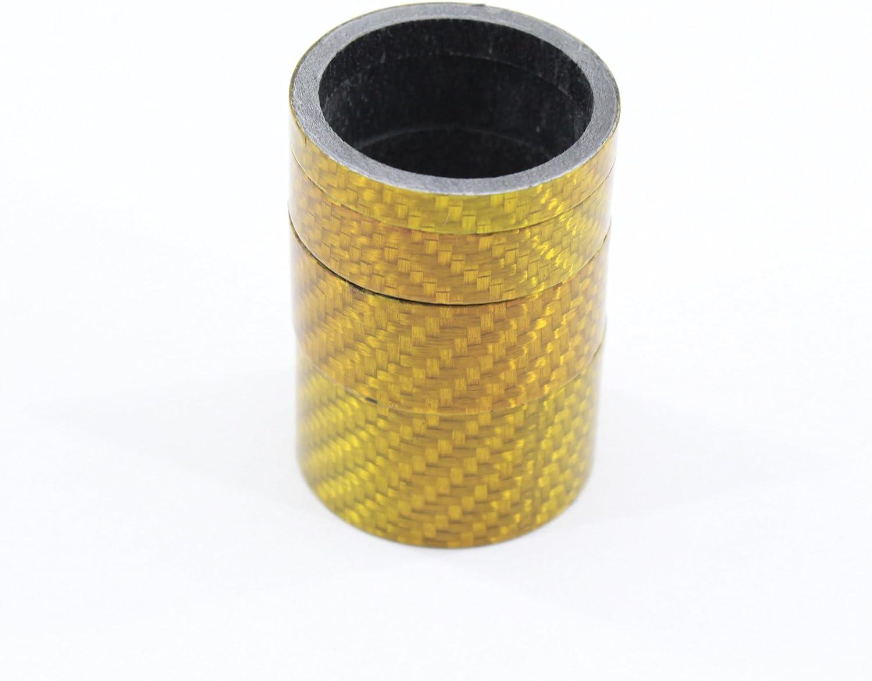 15 mm Kit de rondelle pour guidon de route de 1 1//8 10 mm 4 pi/èces // Los 5 mm 20 mm