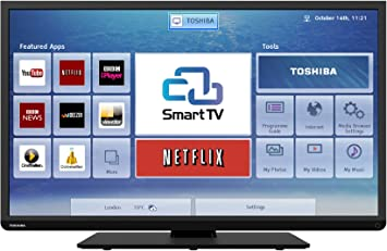 Toshiba 40L3453DB 40-inch Widescreen HD Ready Smart LED TV with Freeview HD: Amazon.es: Electrónica
