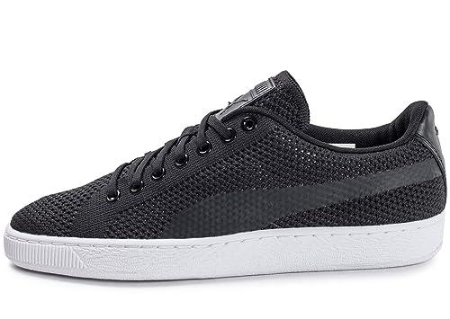 Puma Damen Basket Heart Patent Low top Sneaker