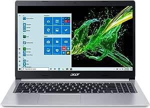 "Acer Aspire 5 A515-55-378V, 15.6"" Full HD Display, 10th Gen Intel Core i3-1005G1 Processor (Up to 3.4GHz), 4GB DDR4, 128GB NVMe SSD, WiFi 6, HD Webcam, Backlit Keyboard, Windows 10 in S Mode"