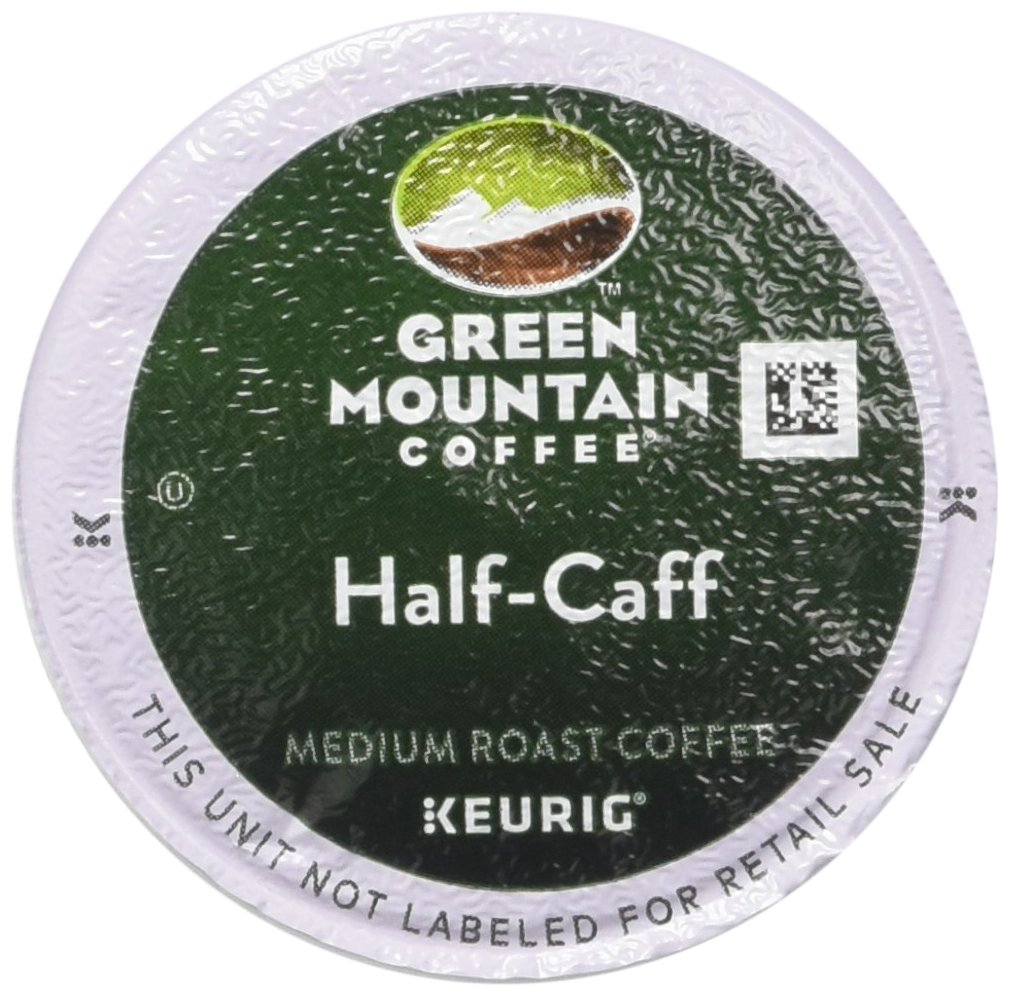 Green Mountain Coffee Half Caff, Vue Cup Portion Pack for Keurig Vue Brewing Systems (96 Count) by Green Mountain Coffee (Image #1)