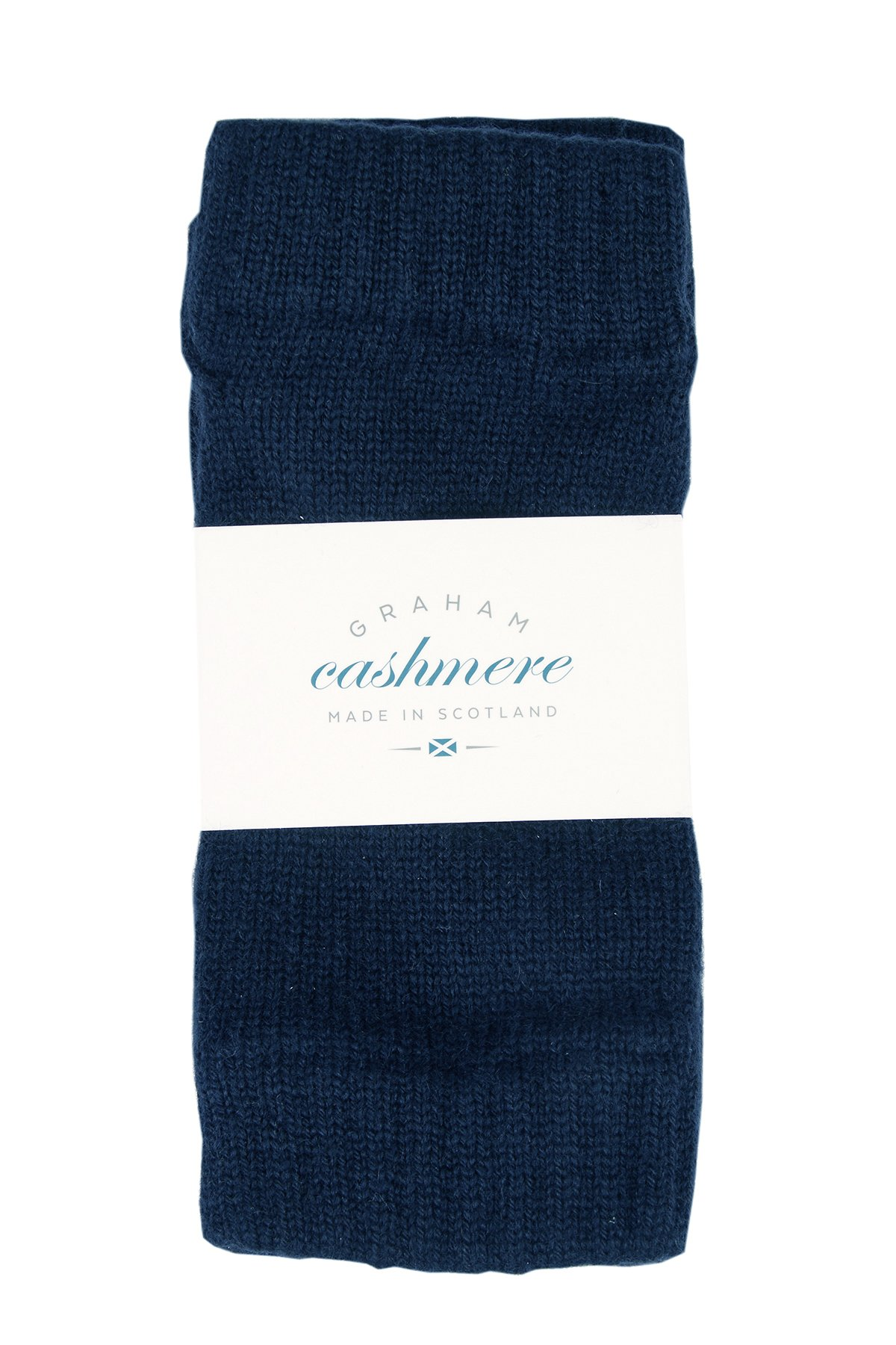 Graham Cashmere Women's Pure Cashmere Wristwarmers Gift Boxed One size Blue