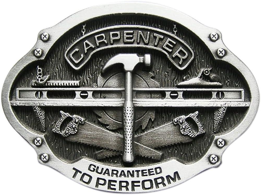 Urban Backwoods Carpenter V Hebillas de cintur/ón Belt Buckle