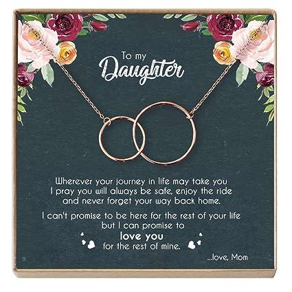 DOPTIKA Mother Daughter Necklace