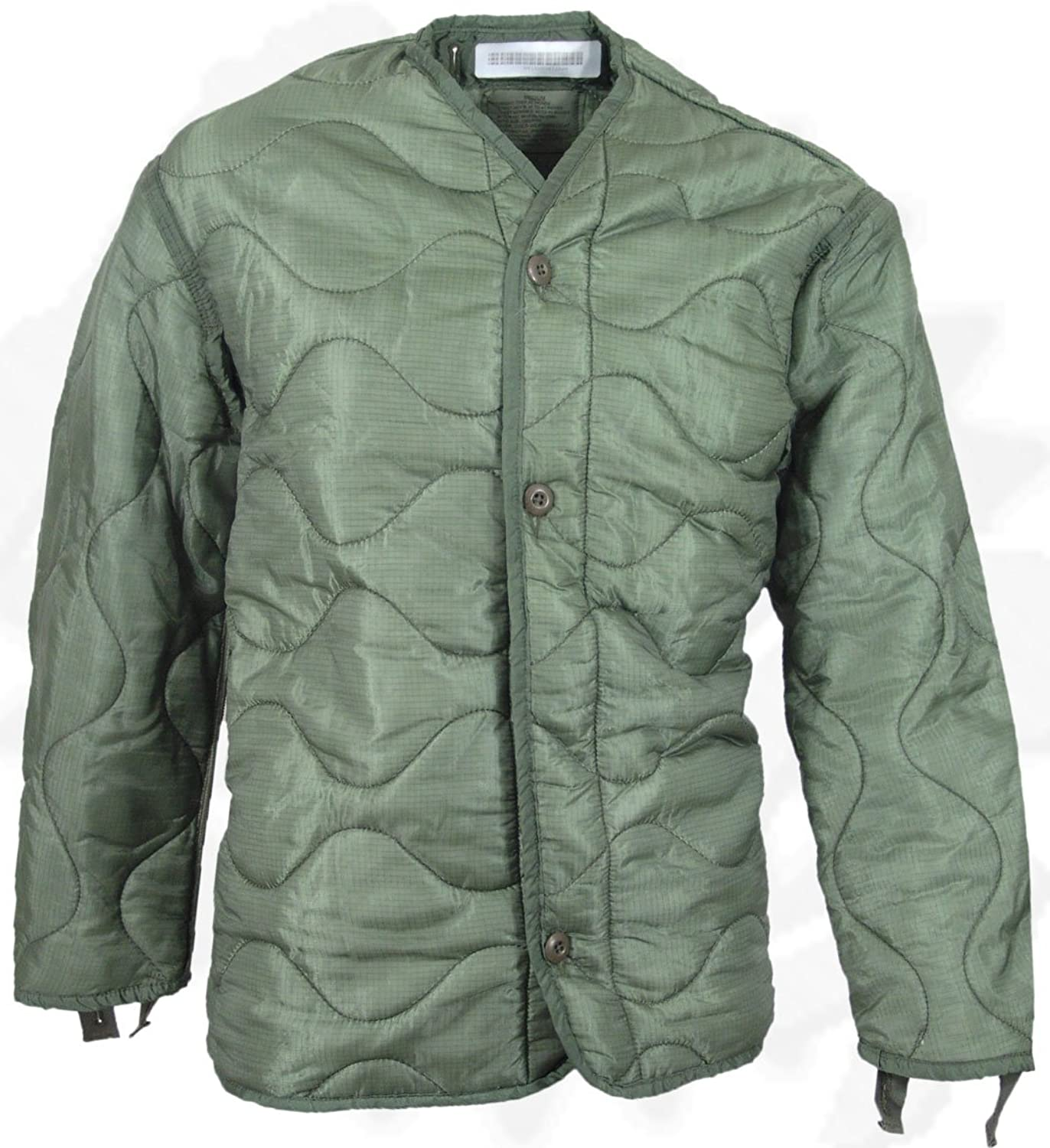 Amazon.com: Field Jacket Liner, M-65, Olive Drab--Genuine Military ...
