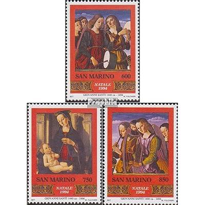 san marin 1587-1589 (complète.Edition.) 1994 Noël (Timbres pour les collectionneurs)
