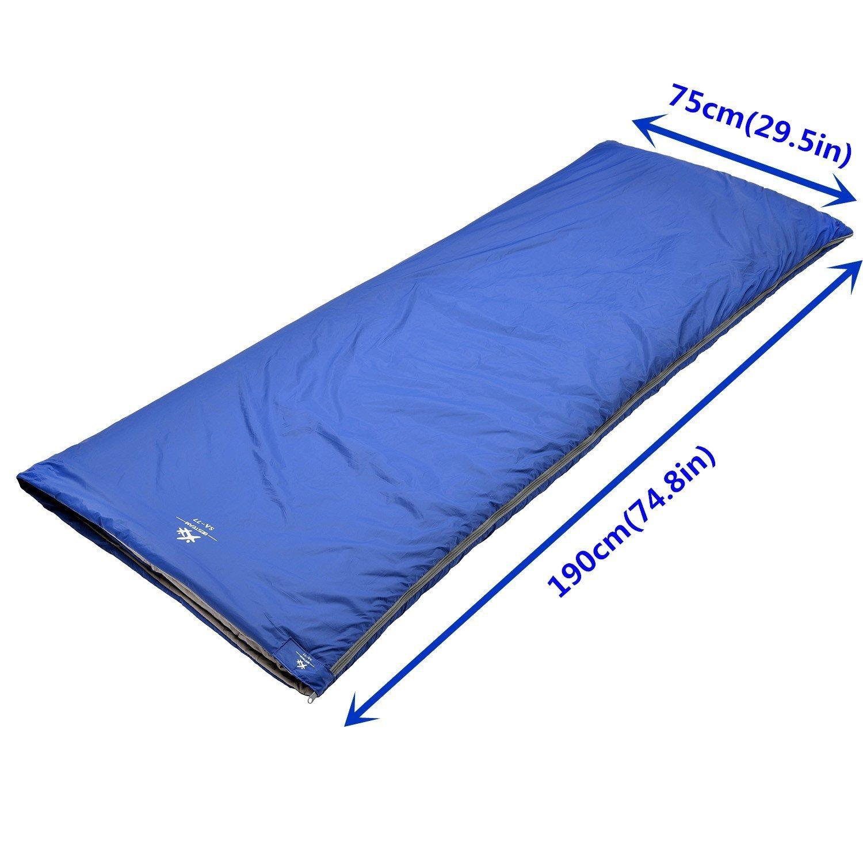Besteam agemore Envelope Saco de Dormir para Camping Viajes Senderismo Multifuntion Ultraligero