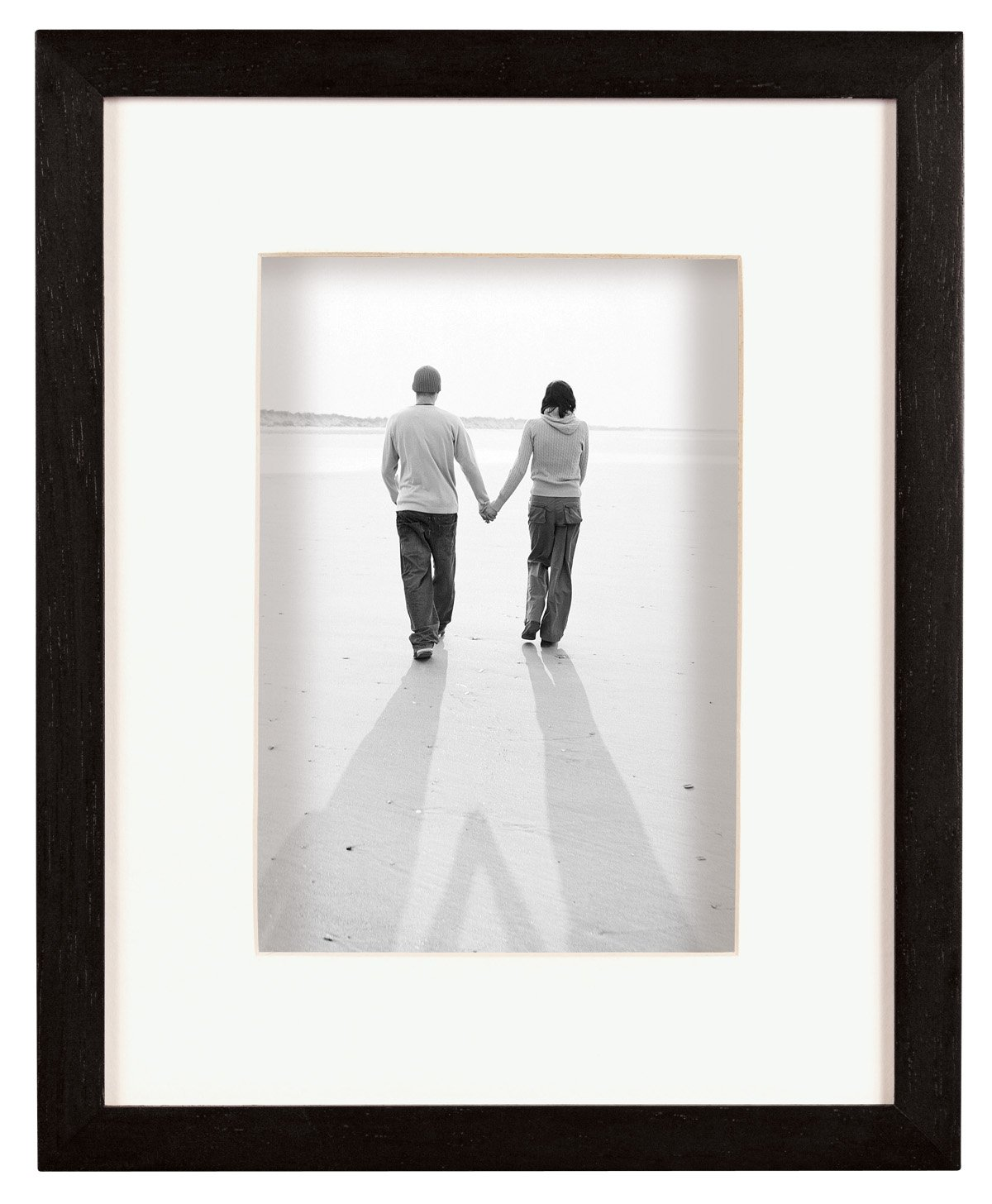 MCS Dakota Wood Shadow Box Series, Wood Picture Frame 16 x 20 - Inch With a 11x14 - Inch Opening Photograph, Black MCS Industries Inc. 52733 FRDSB1620BK