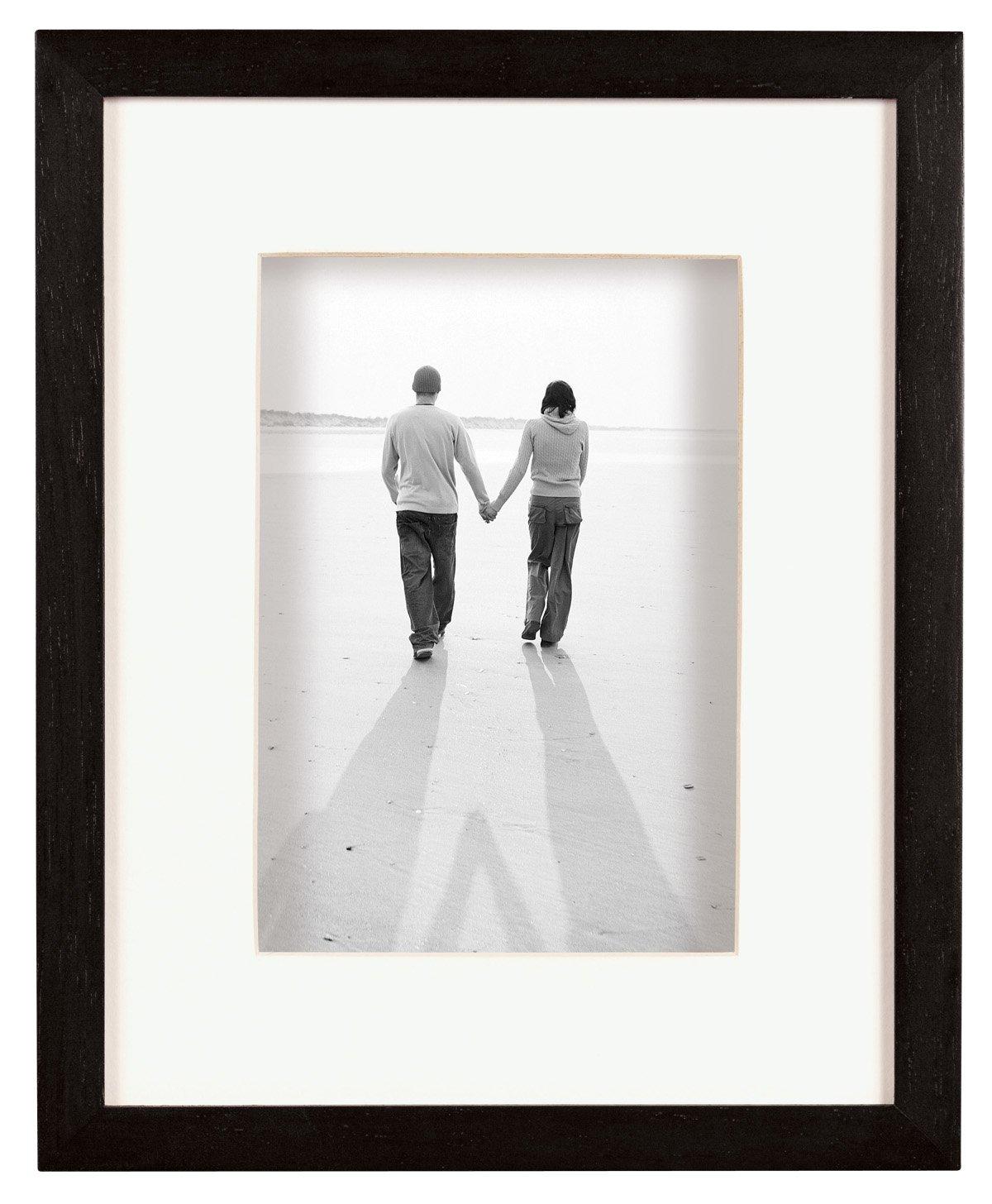 MCS Dakota, Wood Shadow Box Frame for a 11x14'' Photograph, Color; Black