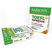 TOEFL iBT Superpack: 4 Books + Practice Tests + Audio Online