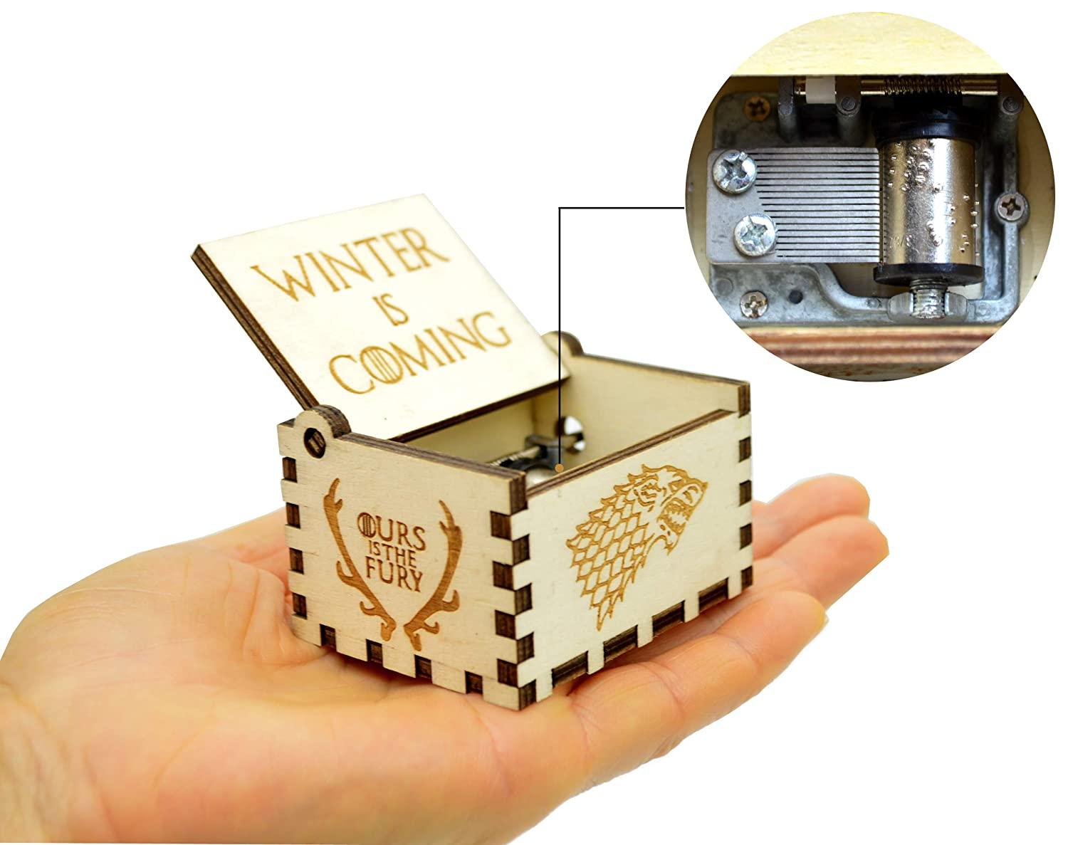 Jsona Game of Thrones Carillon in Legno Lord of The Rings