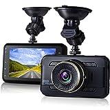 "Dash Cam,EVASA 3.0"" 1080P 170° Wide Angle Metal Shell Car On Dash Video with Night Vision,G-Sensor,WDR,Loop Recording Dashboard Camera Recorder"