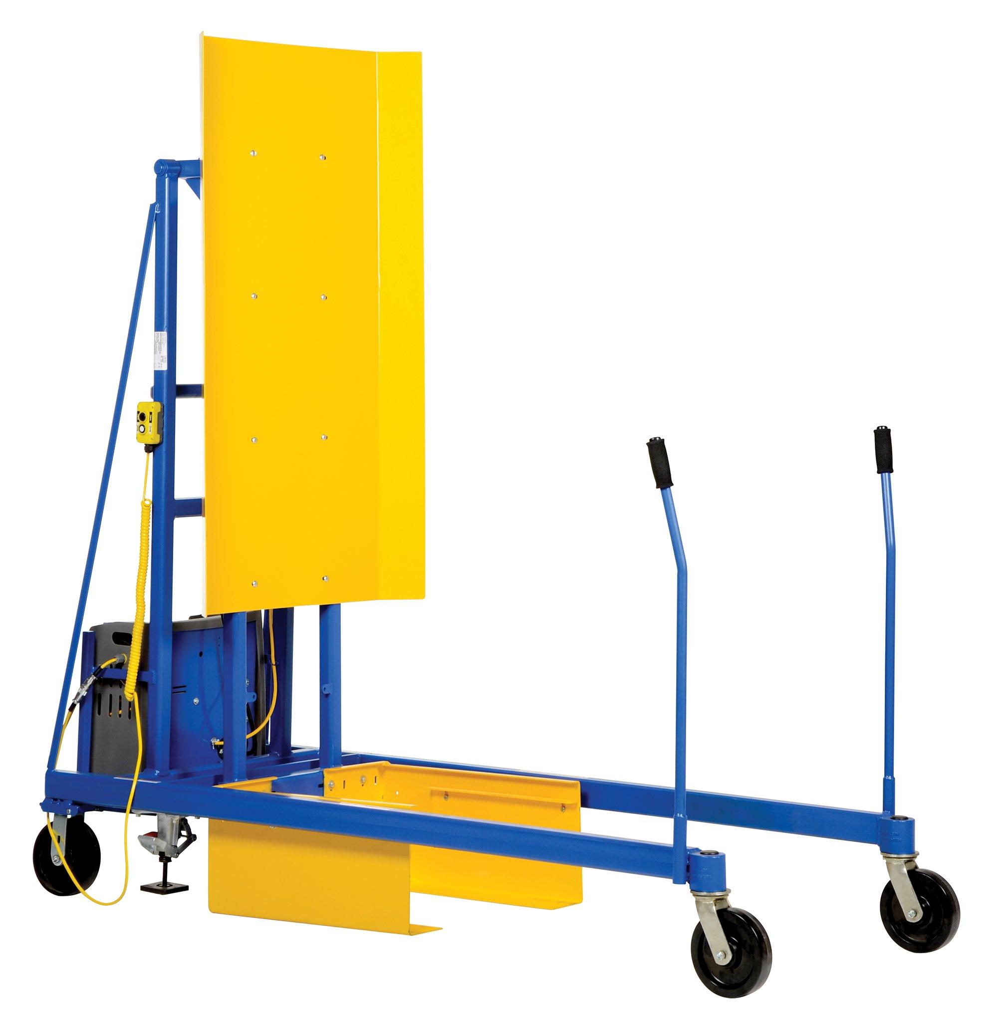 Vestil TCD-M-72-AC AC Power Trash Can Dumper, 400 lb. Capacity, 86.5''