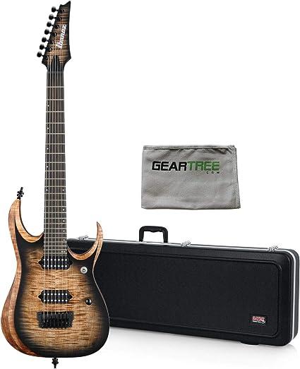 Ibanez RGD71ALANB RGD Axion Label Guitarra eléctrica de 7 cuerdas ...