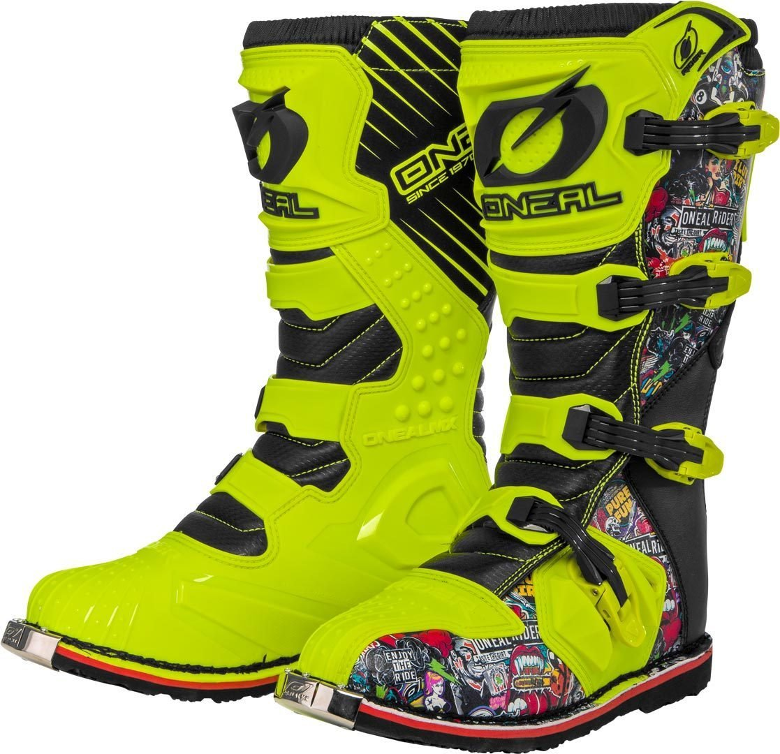 EURO 38 // UK 4 FRANK THOMAS MXW010 SHORT MOTORCYCLE BOOTS ANKLE MOTORBIKE BOOT SIZE J/&S