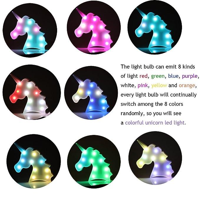 Amazon.com: Lámpara de unicornio.: Home Improvement