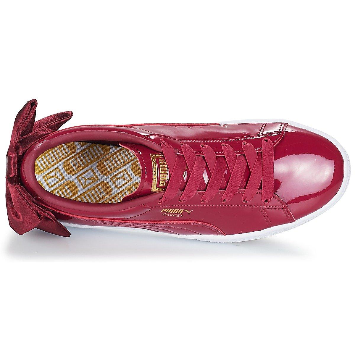 Puma Basket Bow Patent WN s Tibetan Red 36811804 a7092f65b