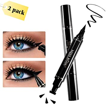 Eyeliner Beauty Essentials Fashion Star Eyeliner Pen Black Eye Liner Seal Pencil Liquid Cosmetic Beauty Long Lasting Waterproof Makeup Tool 1 Piece Elegant And Sturdy Package
