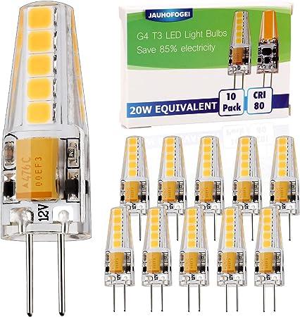Garden /& Landscape Lighting 10-10 Watt Halogen bulbs for G4 Path