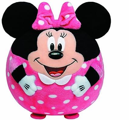Amazon.com  Ty Beanie Ballz Minnie Mouse Plush  Toys   Games 6aae982f6f13