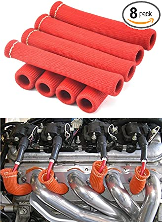 Set of 8 AD AutoParts Heat Shield for GM Vehicles