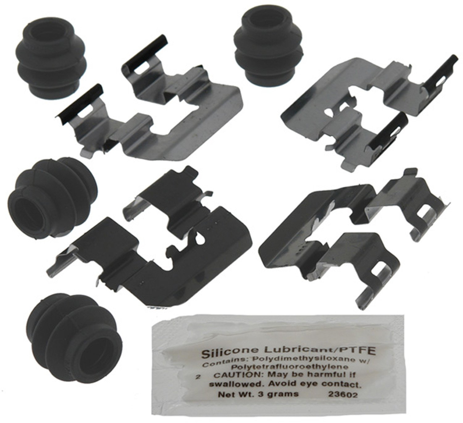 ACDelco 18K1987X Professional Rear Disc Brake Caliper Hardware Kit with Clips Seals and Lubricant