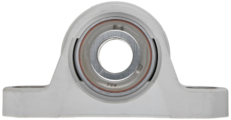 Non-Relubricatable MRC CPB102ZM Pillow Block Bearing Non-Expansion Inch 2 Bolt Holes ZMaRC Coated Insert 1-1//8 Bore Diameter 1-1//8 Bore Diameter Composite Setscrew Locking Collar