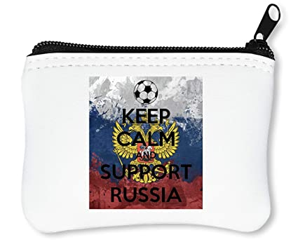 Euro 2016 Keep Calm Support Russia Billetera con Cremallera ...