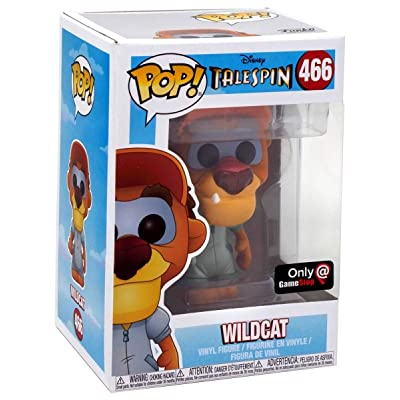 Pop Funko GameStop Exclusive Chase Edition Disney Talespin Wildcat 466: Toys & Games