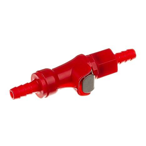 Acoplamiento F. Manguera de combustible – Rojo – Manguera de combustible embrague – Conexiones