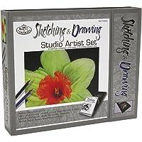 Royal Brush RSETDS3500 Sketching and Drawing Studio Artist Set