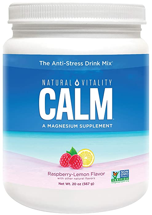 Top 8 Natural Vitality Nature Calm Magnesium