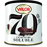 Valor, Cacao soluble Negro 70% - 6 de 300 gr. (Total: 1800 gr.)