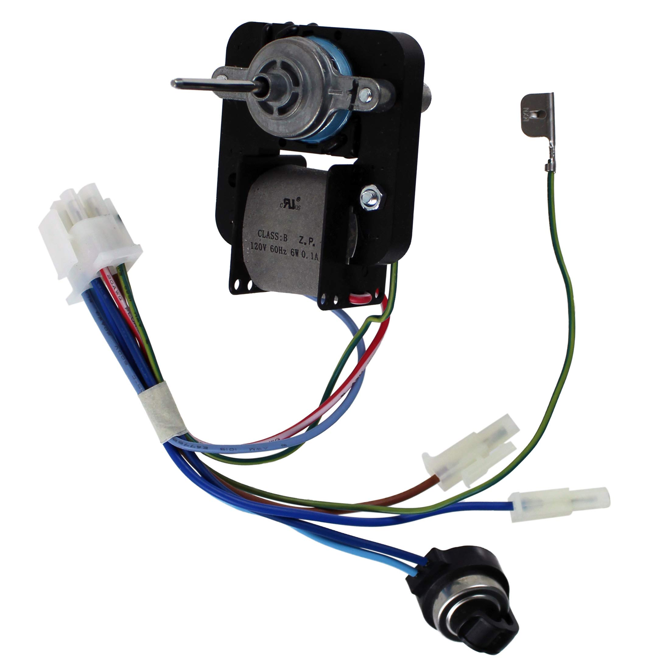 Supplying Demand 808602601 Refrigerator Evaporator Fan Motor Compatible With Frigidaire Fits 241854601, PS11726595 by Supplying Demand