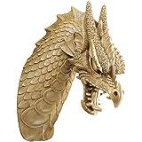 Design Toscano Head of the Beast Dragon Wall Sculpture