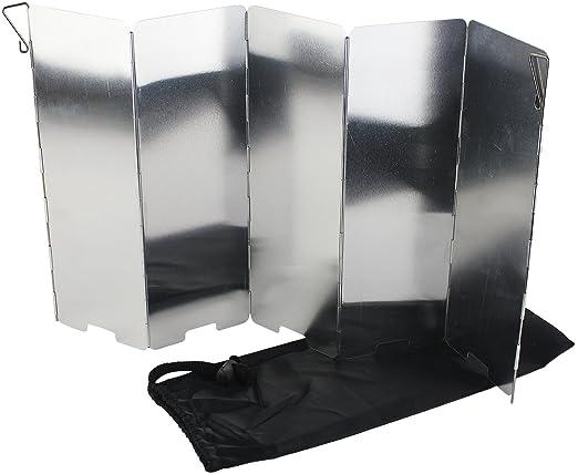 4 opinioni per Yellowstone GA016- Paravento pieghevole in alluminio, colore: Argento