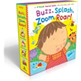 Buzz, Splash, Zoom, Roar!: 4-book Karen Katz Lift-the-Flap Gift Set: Buzz, Buzz, Baby!; Splish, Splash, Baby!; Zoom, Zoom, Baby!; Roar, Roar, Baby!